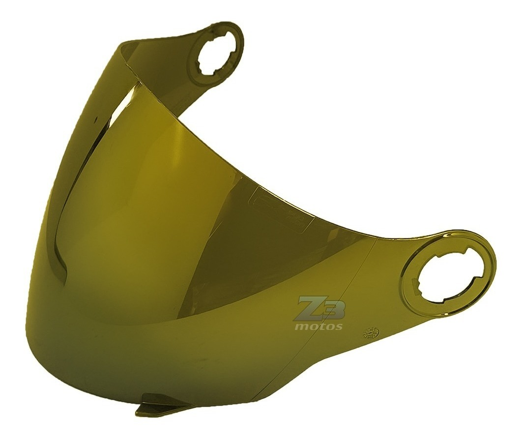 Viseira Capacete Original New Atomic / New Liberty 3 Dourada