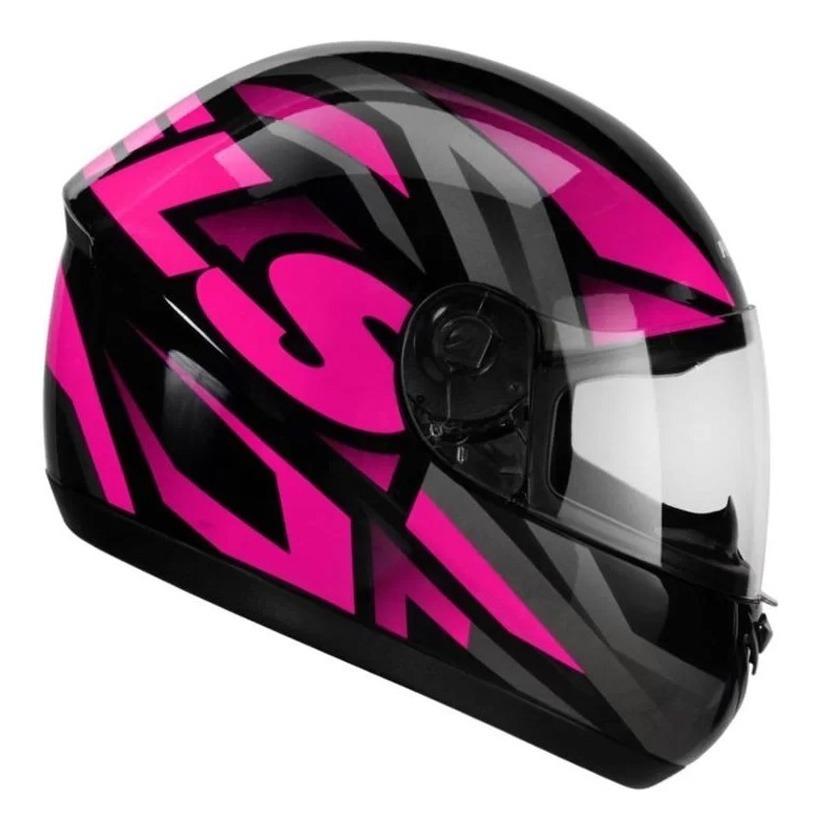 Capacete Peels Spike Maxi Preto/rosa