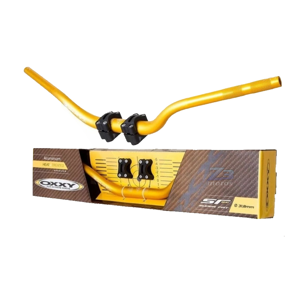 Guidão Oxxy Super Fat Bar Alto + Adaptador