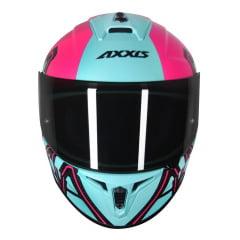 Capacete Axxis Draken Dekers Matt Tiffany/pink