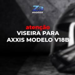 Viseira Axxis V18b Camaleão 2mm Original
