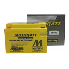 Bateria Xt 660r 2004 Até 2014 Motobatt Mbt9b4