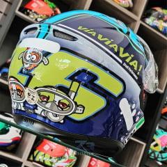 Capacete Agv K3 Sv Misano Azul