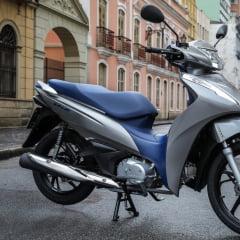 Capa de Banco de Moto Biz 125 2018-2021 Azul
