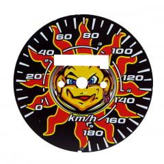 Lente de Velocímetro Titan 150 Modelo Sol 180 Km Z3 Motos
