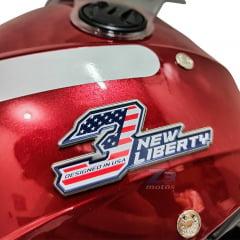 Capacete Aberto Pro Tork New Liberty Three Vermelho  Elite 2020