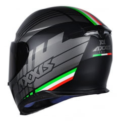 Capacete Axxis Eagle Italy Matt Black