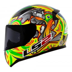 Capacete Ls2 Alex Barros Brasil - Z3 Motos