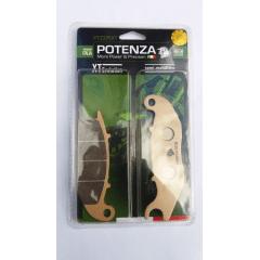 Pastilha Dianteira XT 660 Potenza PTZ209