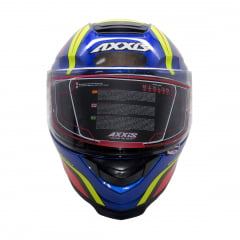 Capacete Axxis Hybrid Gloss Race Blue
