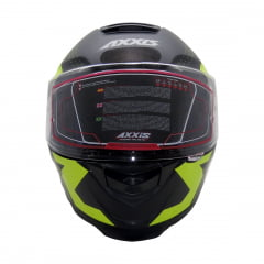 Capacete Axxis Diagon Matt Black Yellow