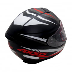 Capacete Axxis Hybrid Matt Black Grey White