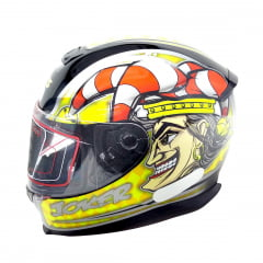 Capacete Axxis Joker Black Yellow