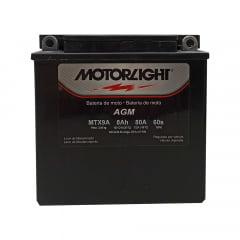 Bateria Motorlight MTX9A 8ah 6Volts