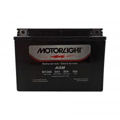 Bateria Motorlight MTZ9B 8ah 6Volts