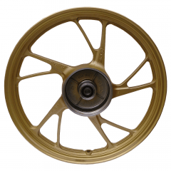 Rodas Scud Titan 150 2004 até 2013 ESD 5P MOD160EX Sem Câmara Dourada Freio a Disco Par