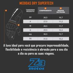 Luva 100% Impermeável - X11 Dry Supertech