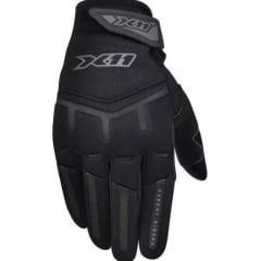 Luva Fit X11 Motociclista Preta